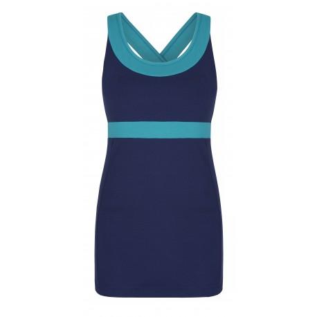 Shape Me Vest Asquith -Ocean/Seafoam
