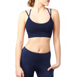 Mandala Slim Studio Bra Midnight