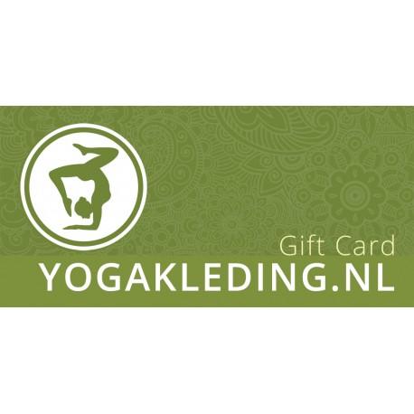 Cadeaubon Yogakleding.nl