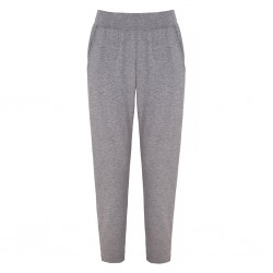 Straight To It Pants Asquith Pale Grey Marl