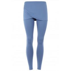 Mandala Wrap Skirt Pant Blueberry
