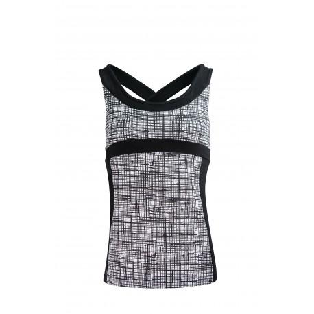 Shape Me Vest Asquith - 50's Vintage Print
